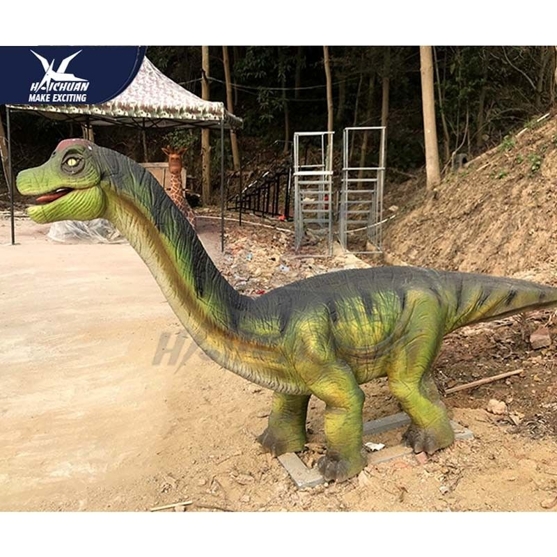 3D Animated Realistic Dinosaur Statues In Jurassic Theme Park Weather Resistant